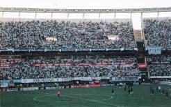 """""""Maradona e mais 11"""", pede a faixa dos Maradonianos"""