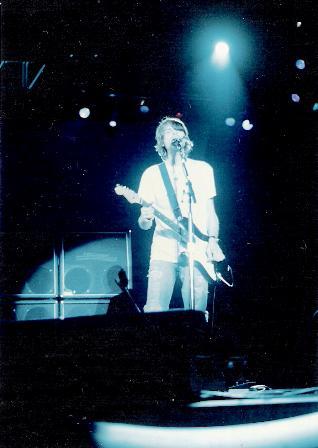 No Brasil, em 1993. Foto: fanzine HEADLINE