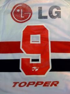 Sem Luís Fabiano, a 9 do SPFC em 2005 chegou a ser usada por Grafite