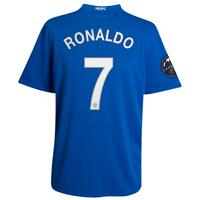 Também é dele a camisa 7 azul, 3º uniforme do Manchester, disponível no site do clube