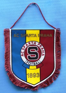 Flâmula do Sparta Praga. Cortesia da Lália! Foto: Luiz Roberto Lima