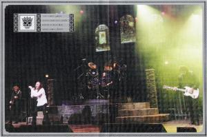 Geezer, Dio, Appice e Iommi em foto do DVD