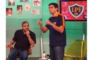 """Foto: produção do """"Loucos por Futebol"""""""