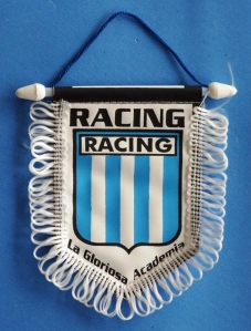 Racing banderín
