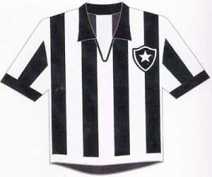 Botafogo: Gini preferiu o listrado da década de 60 (pág. 42)