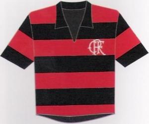 Flamengo: Gini prefere a camisa rubro-negra da década de 50/60. Pág.110.