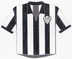 Atlético-MG: Paulo Gini escolheu o modelo de 1957/58 (pág.14 do livro)