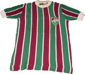 Camisa 8 de Gérson no Flu de 73. Coleção de Paulo Gini.