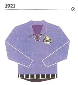 Modelo usado em 1921 é o uniforme do Grêmio escolhido por Gini. Pág.143.
