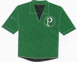 Verdão em 1958: uniforme do Palmeiras escolhido pelo colecionador. Pág.185.