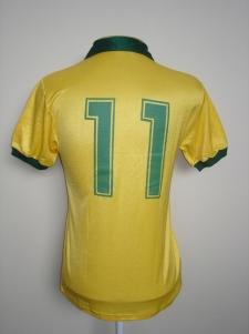 Camisa de Romário na Copa de 90. Coleção de Paulo Gini