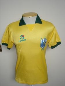 Camisa 11 de Romário na Copa de 90. Coleção de Paulo Gini.