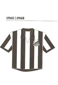 Santos na década de 60: camisa do Peixe preferida por Paulo. Pág. 213.