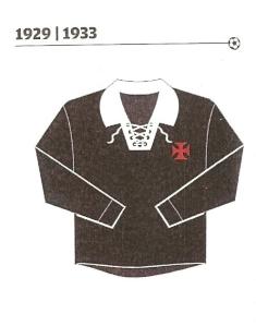 Camisa do Vasco de 1929 a 33: a escolha de Paulo Gini