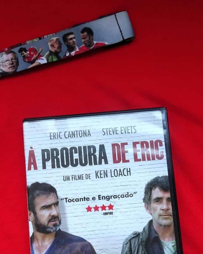 "Eric Cantona em ""À Procura deEric""."