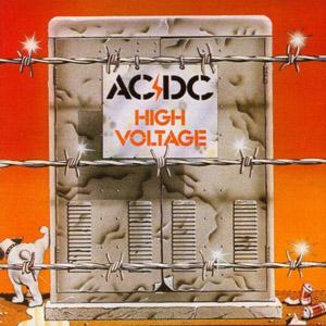 """Capa da edição australiana de """"High Voltage"""""""