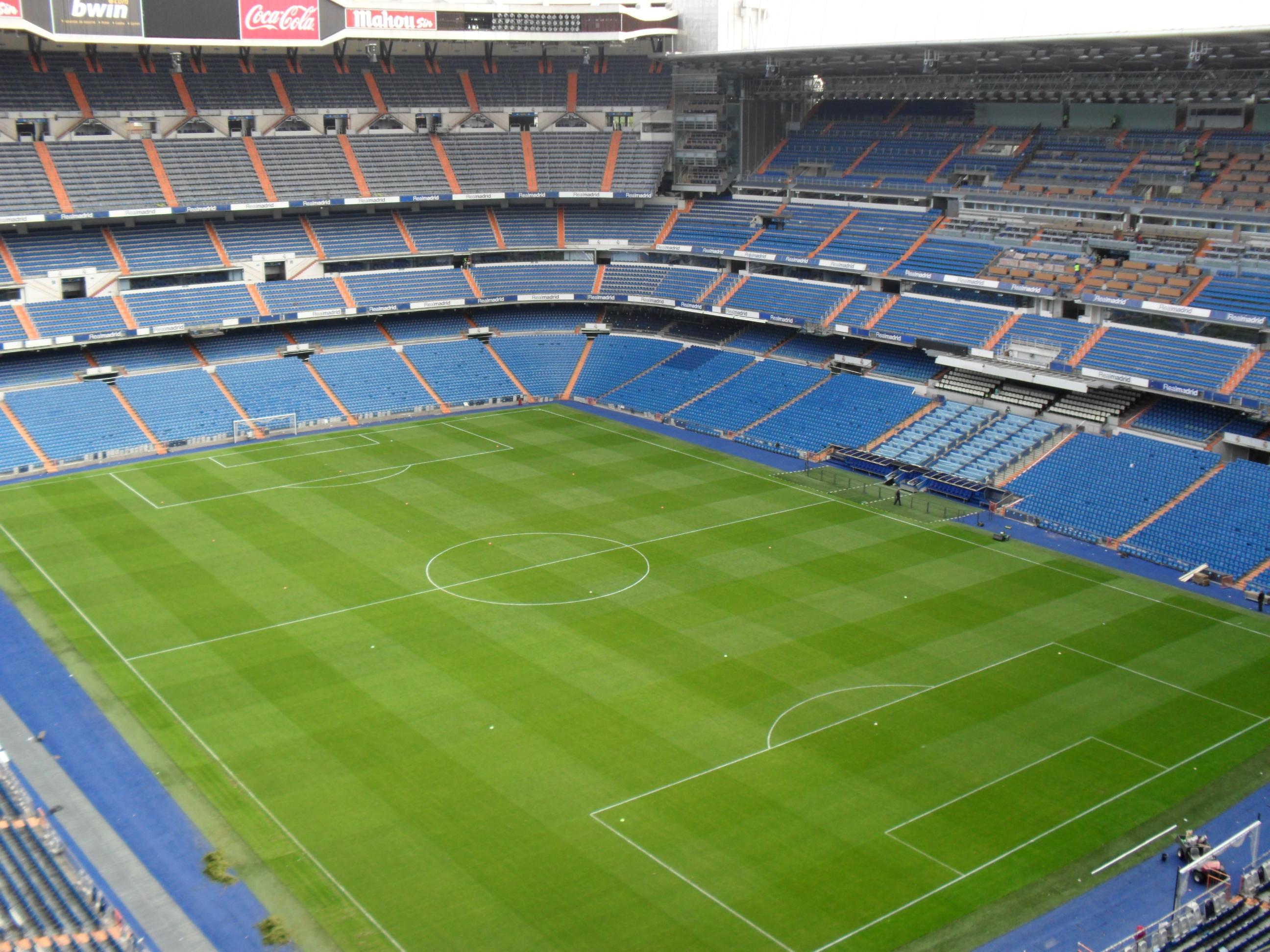 Real madrid club de f tbol est dio santiago bernab u for Puerta 38 santiago bernabeu