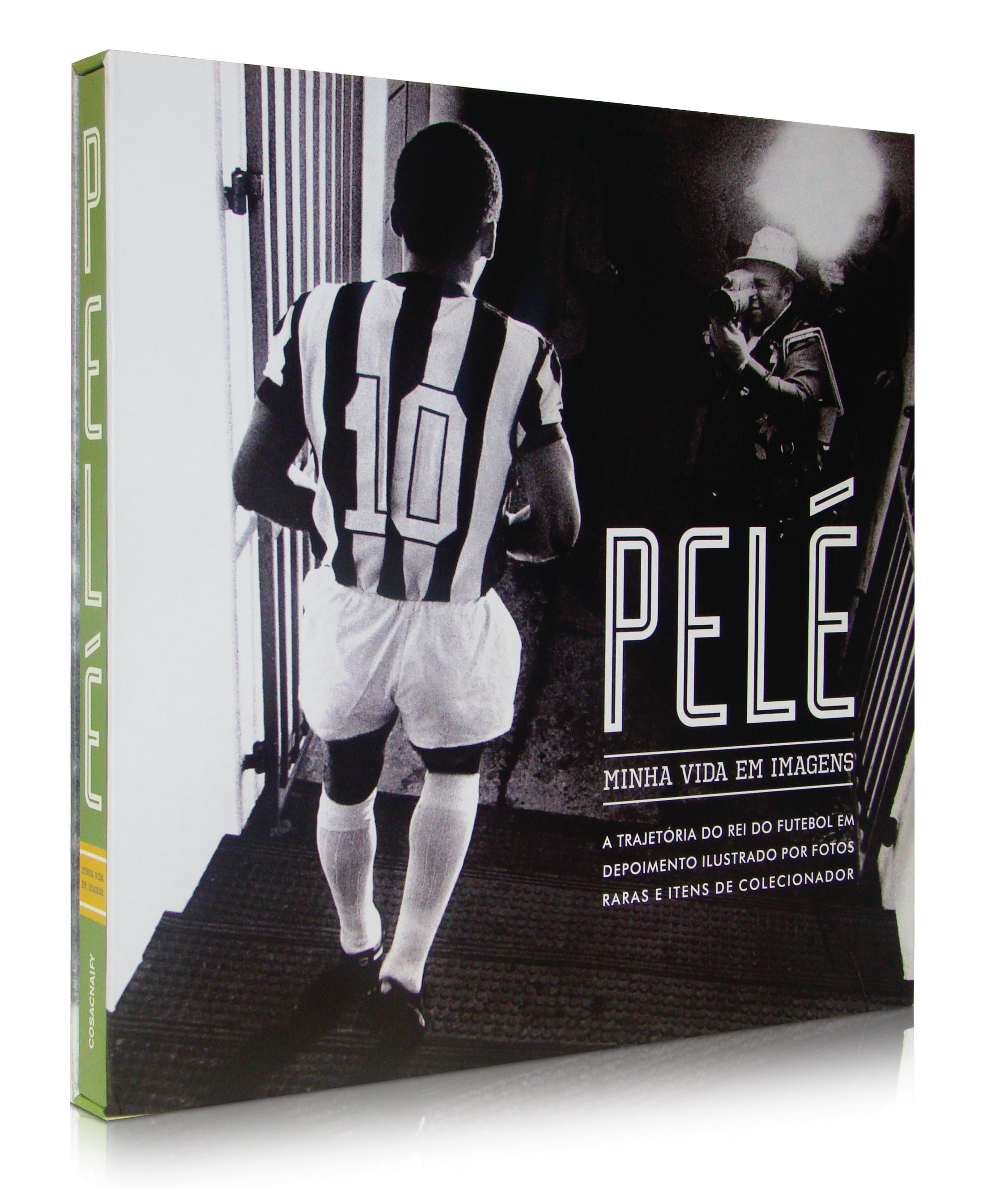 """8f16e9aec1 Pelé – Minha Vida em Imagens"""" – Fut Pop Clube"""