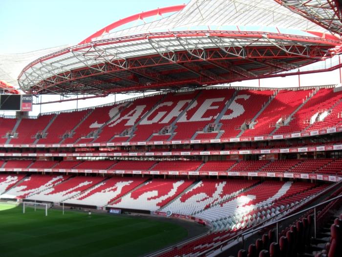 Estádio da Luz.