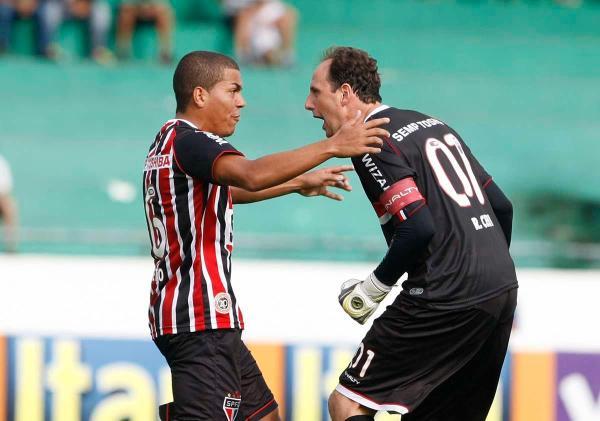 Gol 109, em Campinas, fevereiro de 2013. FOTO Rubens Chiri / SaoPauloFC.net