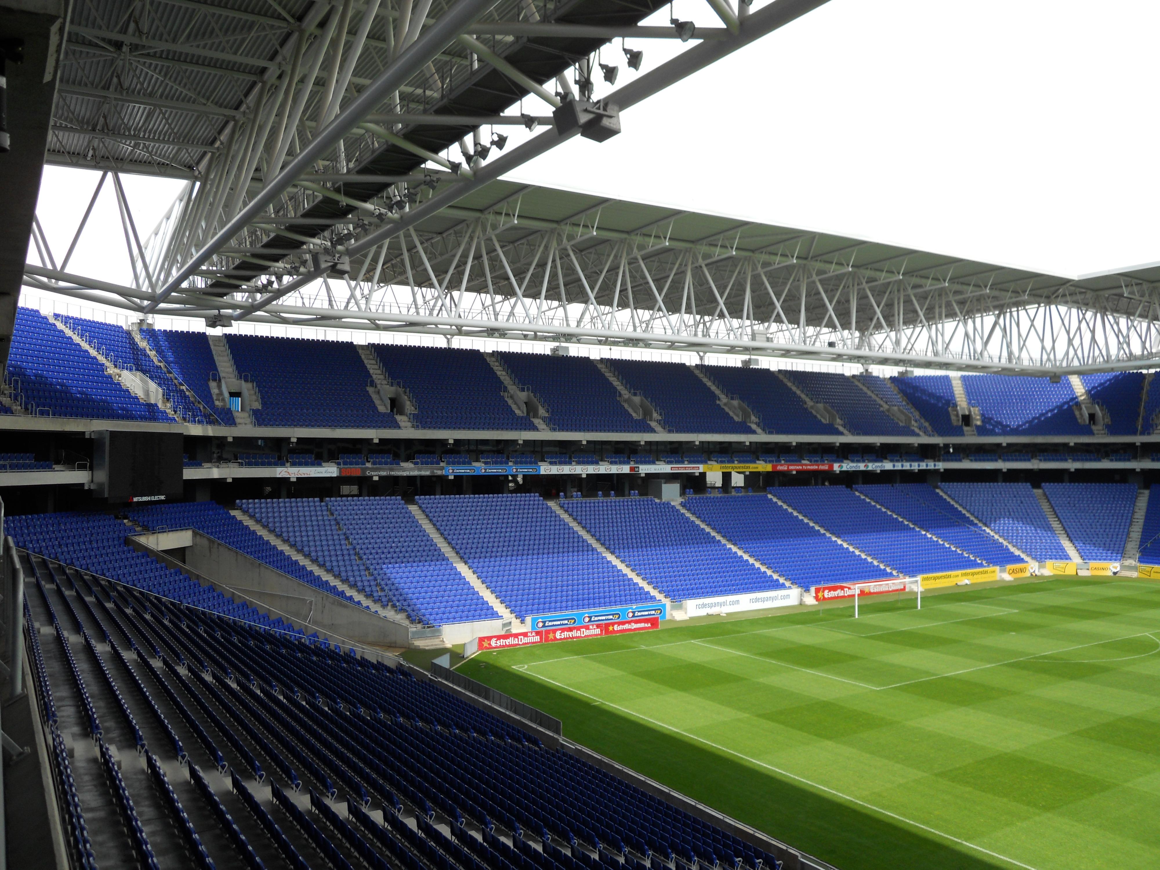 Rcde Stadium O Moderno Estadio Do Espanyol Fut Pop Clube