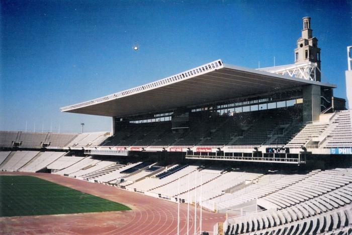 Estadi Olímpic Lluís Companys, em Montjuic.