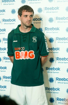 Montillo com o uniforme 3 do Cruzeiro FOTO Washington Alves VIPCOMM