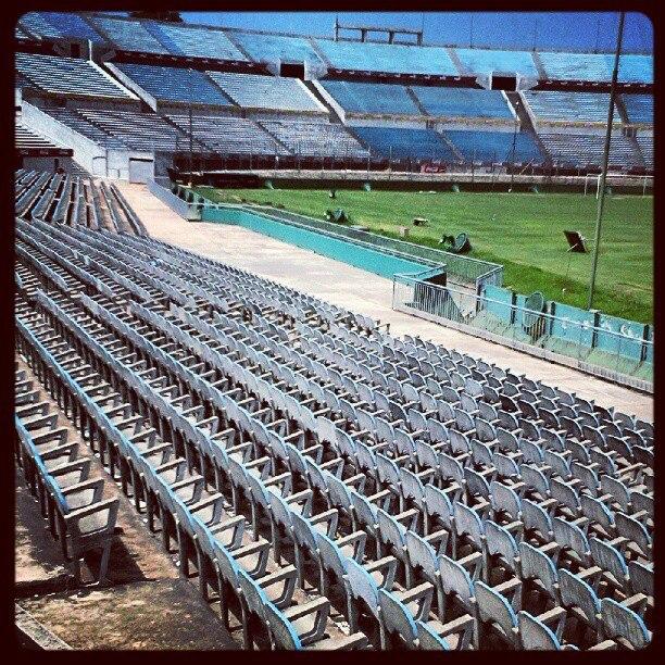 Para Eduardo Galeano, não havia estádiovazio.