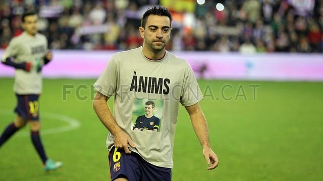 Xavi... FOTO Miguel Ruiz @ FCB FCBarcelona.cat