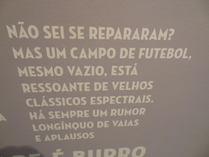 Foto tirada pelo blog na Sala de Troféus do Fluminense