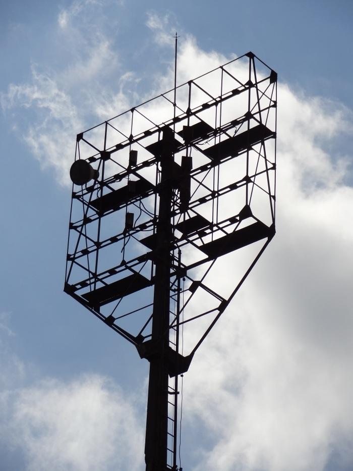 As torres, sem refletores