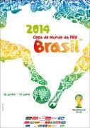 Cartaz oficial da Copa do Mundo 2014 (C) Fifa
