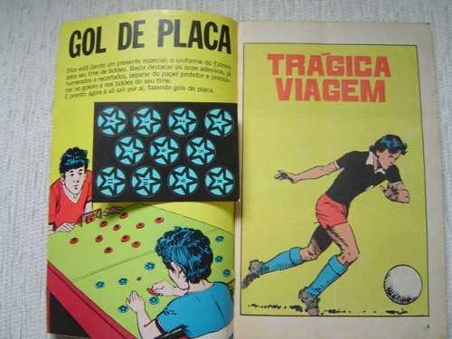 Adesivos do Estrela, time do Dico, para o futebol de botão.