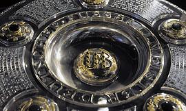 A salva de prata volta para Munique depois de duas temporadas consecutivas em Dortmund IMAGEM FCBayern.de