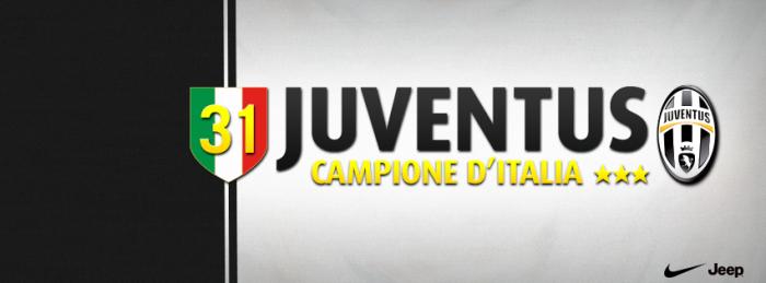 #JuveCampione. 31 volte.