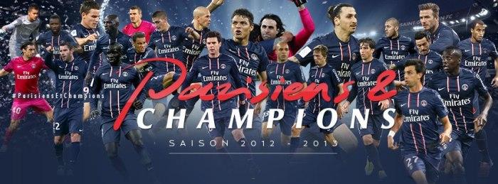 PSG, campeão francês pela 3ªvez