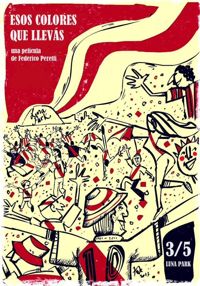 Cartaz feito pelo ilustrador Federico Raiman: http://www.frillustrations.portfoliobox.net/