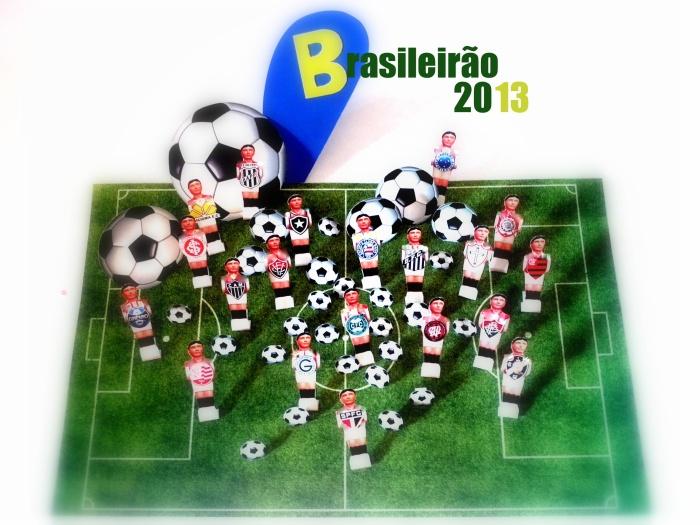 Vai começar o Brasileirão 2013, o oitavo campeonato nacional mais valioso domundo.
