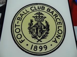 Primeiro escudo do Barcelona