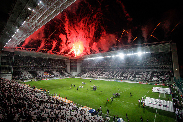 Mosaico da torcida do Galo. FOTO  Bruno Cantini | http://www.flickr.com/photos/clubeatleticomineiro/
