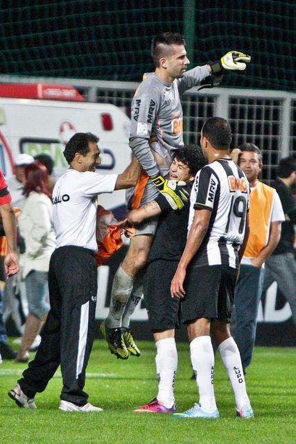 Victor, herói da classificação atleticana para as semifinais da Libertadores FOTO  Bruno Cantini | http://www.flickr.com/photos/clubeatleticomineiro/