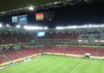 Arena Pernambuco, 16/06/2013: https://futpopclube.com/2013/06/17/da-lama-aos-caos/