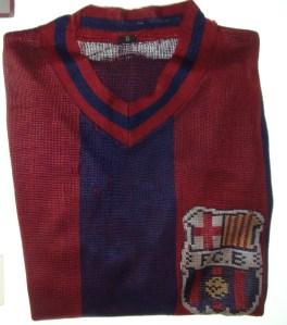 Camiseta de José Sastre, campeão da primeira liga espanhola, 1928-29