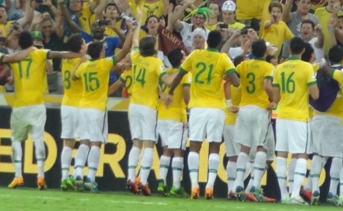 Rolê pelo Maracanã, em noite de Neymar, Fred, David Luiz e Brasilcampeão!