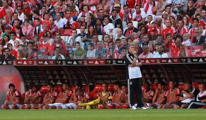 A fama de JJ - Jorge Jesus - não anda lá muito boa nas redes sociais benfiquistas. FOTO Isabel Cutileiro / SL Benfica