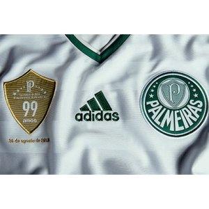 Detalhe da camisa comemorativa dos 99 anos do Verdão | www.mundopalmeiras.com.br
