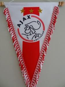 Flâmula do Ajax, tetracampeão holandês