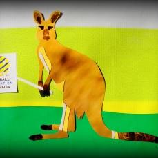 Homenagem aos Socceroos. Arte: LAIS SOBRAL : http://www.flickr.com/photos/lais-sobral/