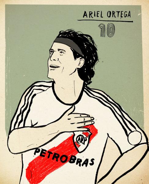 Ortega por Lehel Kóvacs - http://www.kolehel.com/ - especial para o @FutPopClube