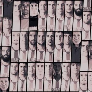 A arte do Facebook do Atlético de Madrid mostra os jogadores relacionados para o clássico. Um time de guerreiros, muitos guerreiros. https://www.facebook.com/AtleticodeMadrid